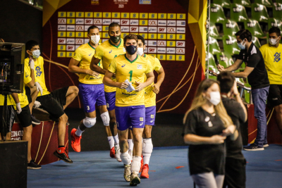 Brasília (DF) - 05.09.2021 - Sul-Americano masculino  - Brasil x Argentina