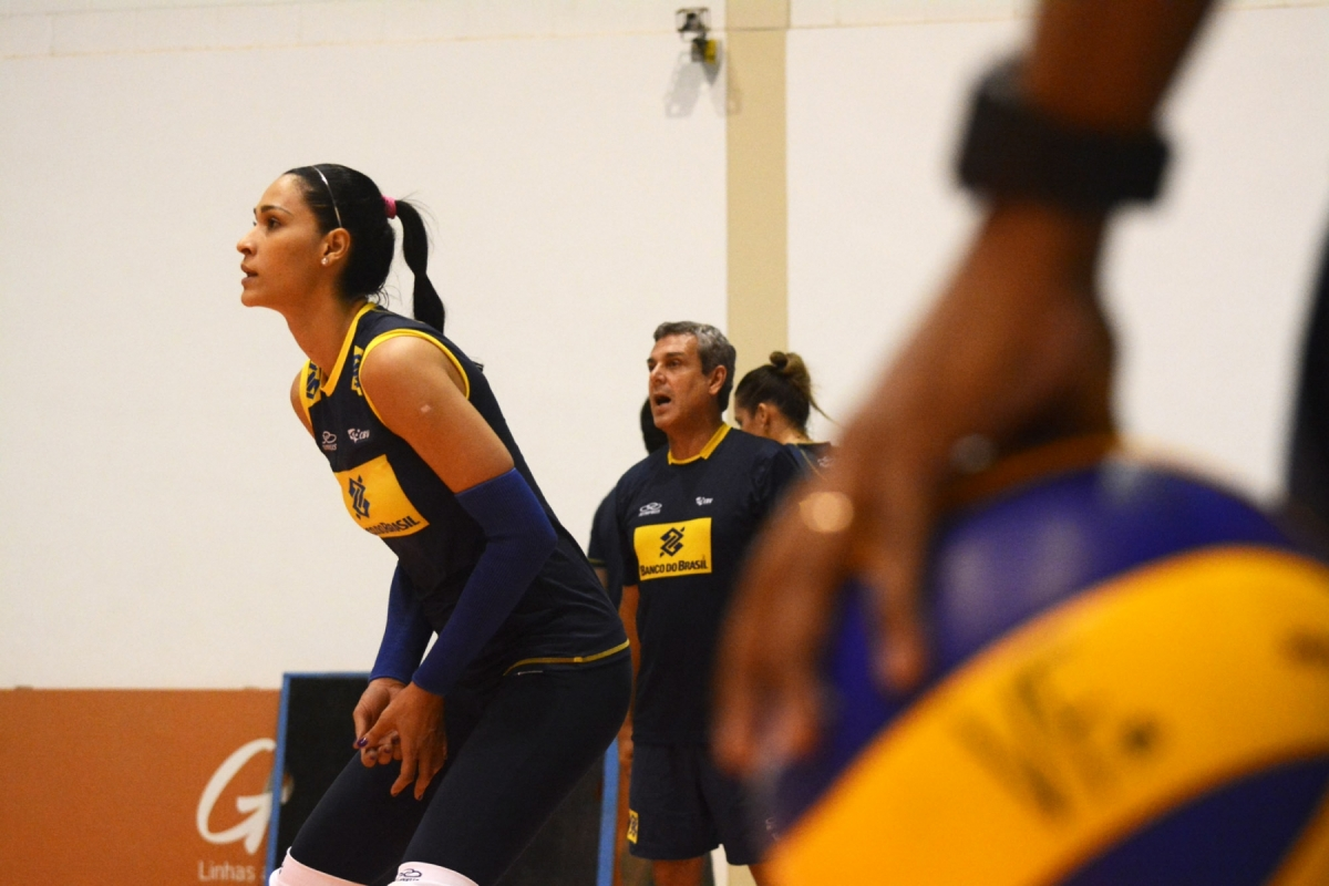 Jaqueline começa temporada na seleção motivada e com objetivos traçados