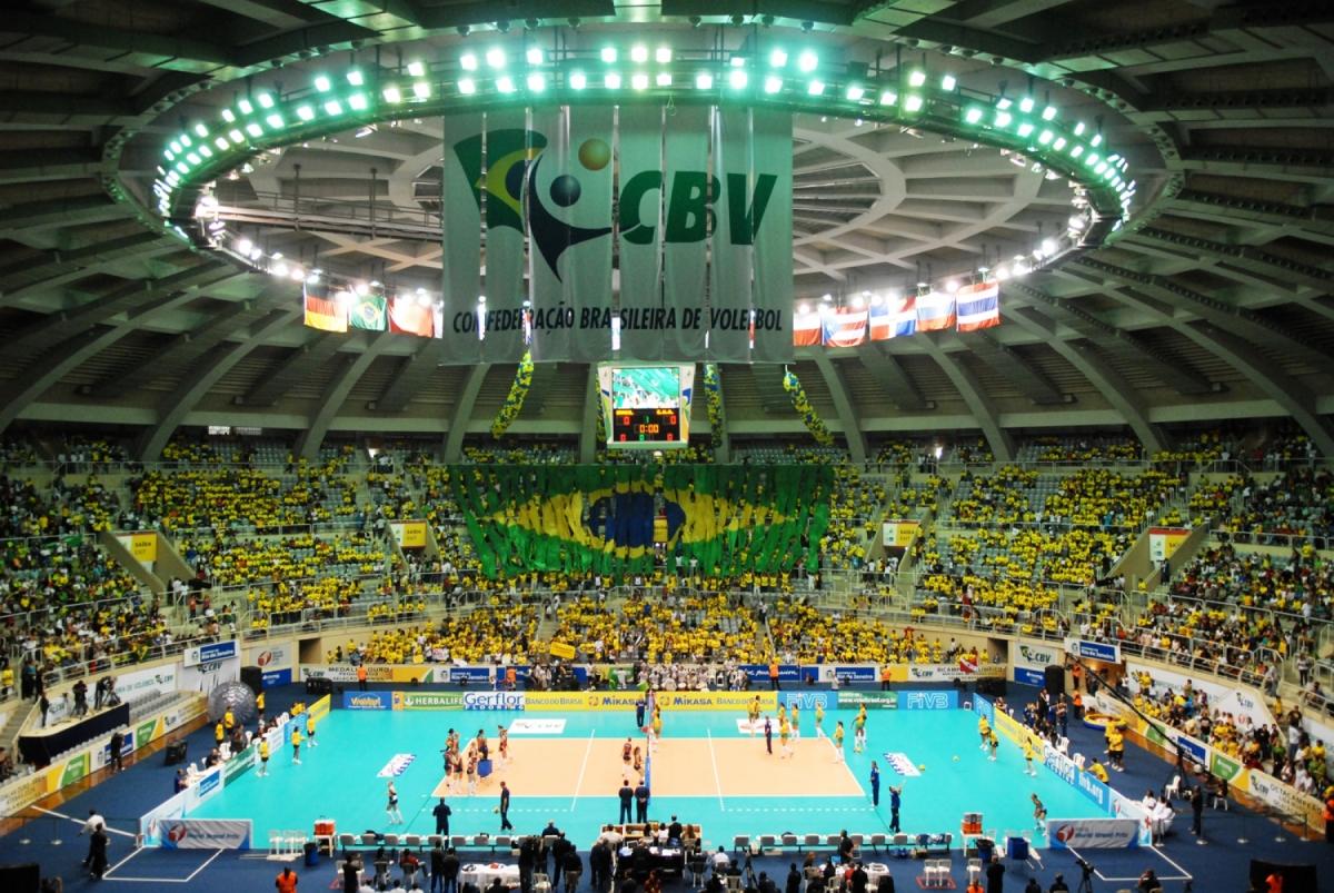 FIVB confirma Brasil como sede da fase final da Liga Mundial
