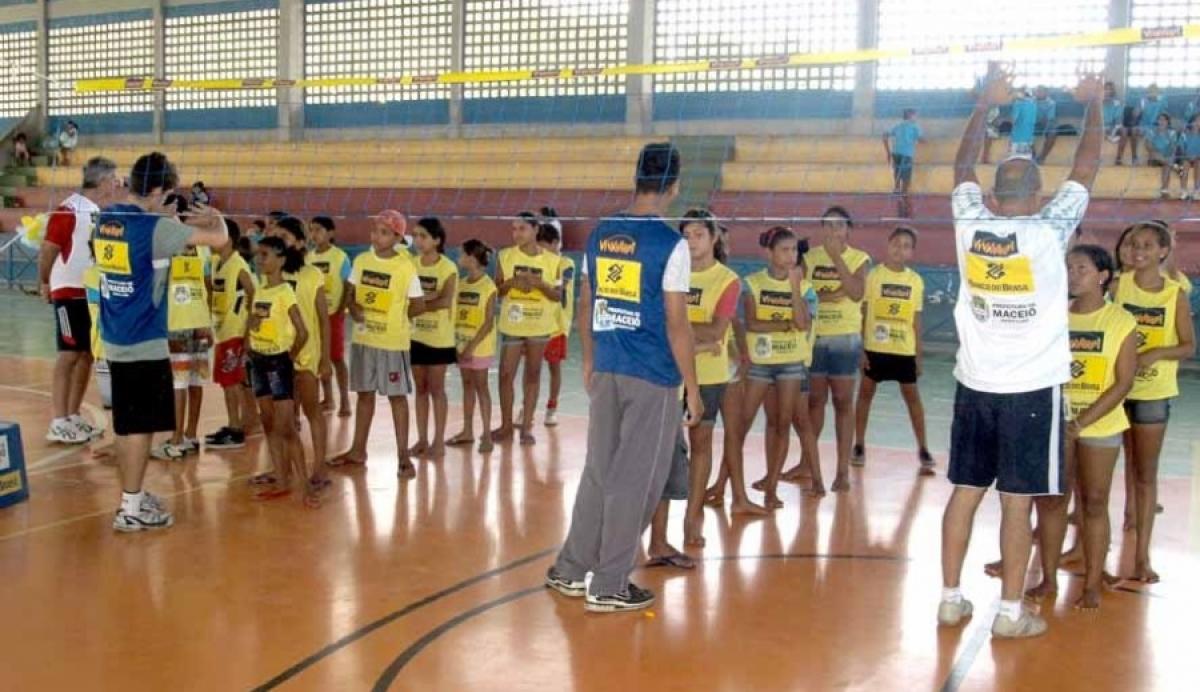Com a presença da campeã olímpica Sandra Pires, núcleo de Maceió será reinaugurado