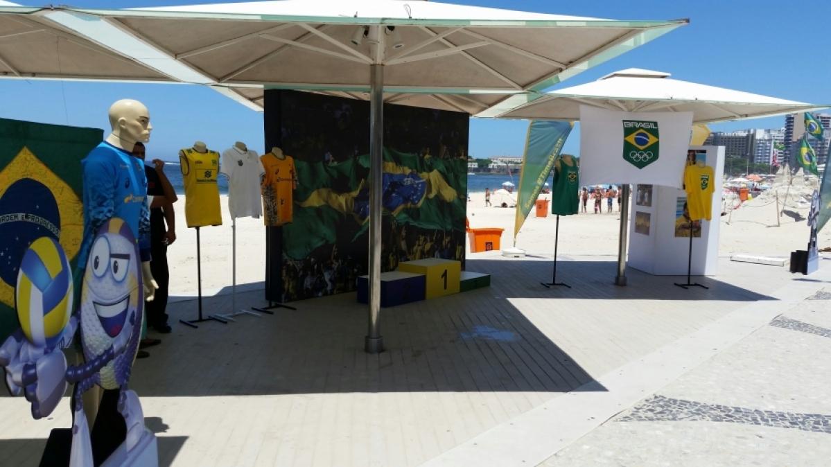 Giba participará da exposição dos Jogos Olímpicos com as crianças do VivaVôlei