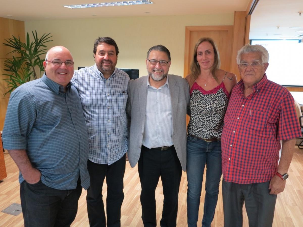 Medalhista olímpica Ida Álvares apresentou proposta à CBV para levar o vôlei para Ilhabela (SP)