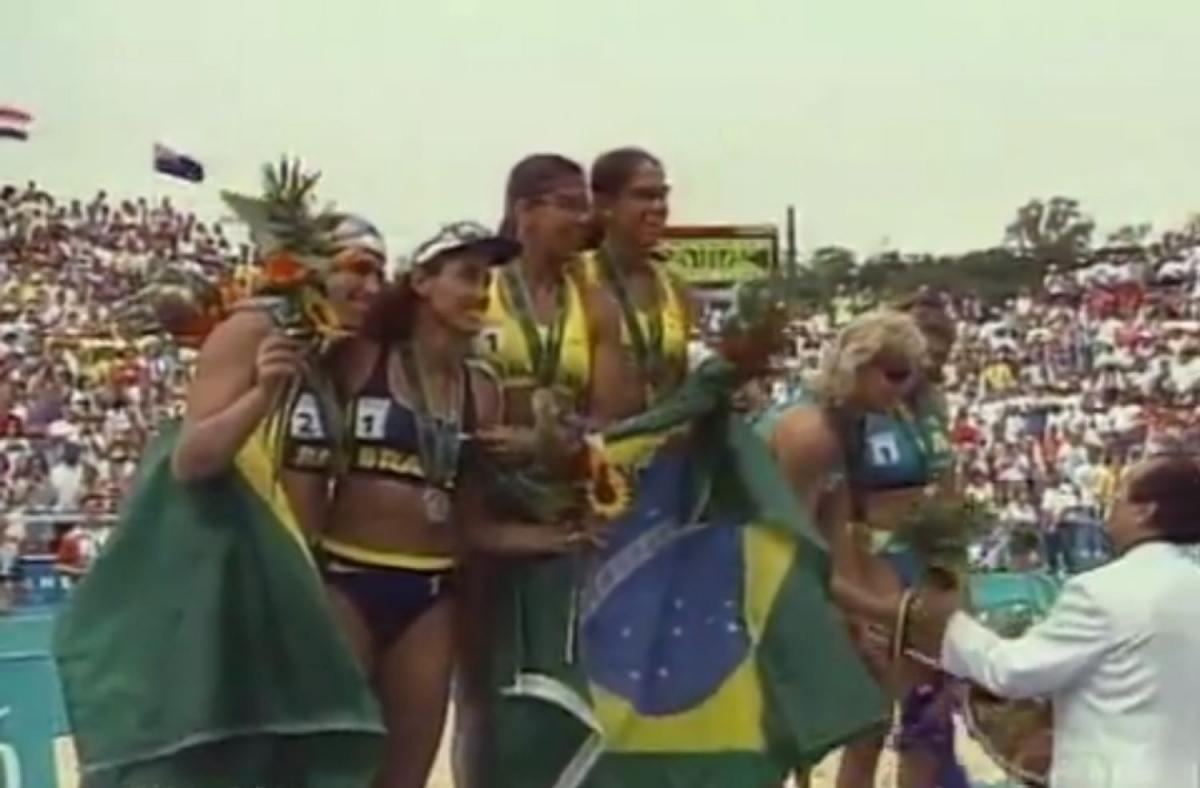CBV convida para comemoração de 20 anos de ouro e prata olímpicos do vôlei de praia