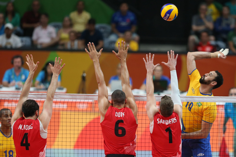 Brasil bate o Canadá e garante segunda vitória