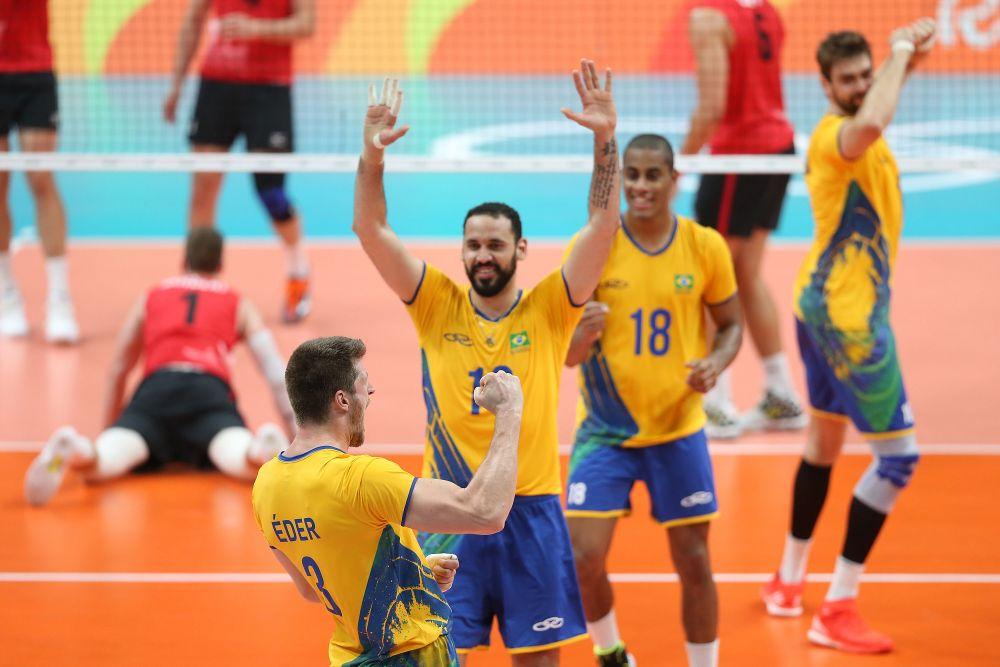 Brasil enfrenta os Estados Unidos na terceira rodada