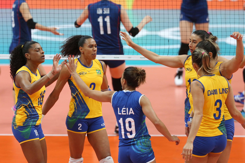 CBV - Brasil vence Coréia do Sul e alcança a quarta vitória 39c8d84af4951