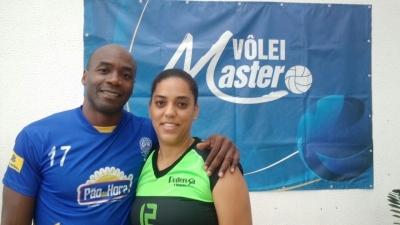 Casal cubano cultiva o amor ao esporte no Vôlei Master 2016