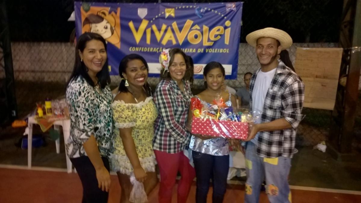 Núcleo Canavieiras realiza grande festa junina