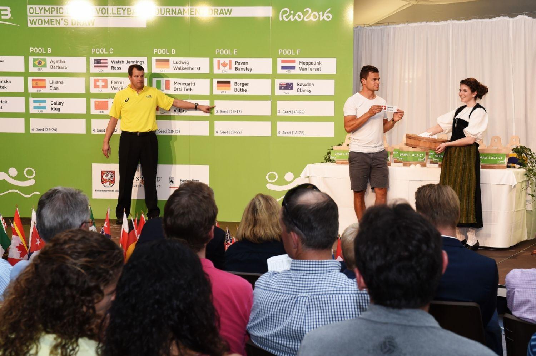 Definidos dias e horários das partidas das duplas brasileiras no vôlei de praia