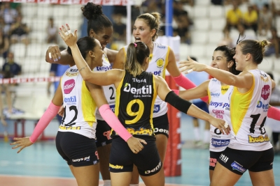 Dentil/Praia Clube duela com o Vôlei Nestlé nesta sexta-feira