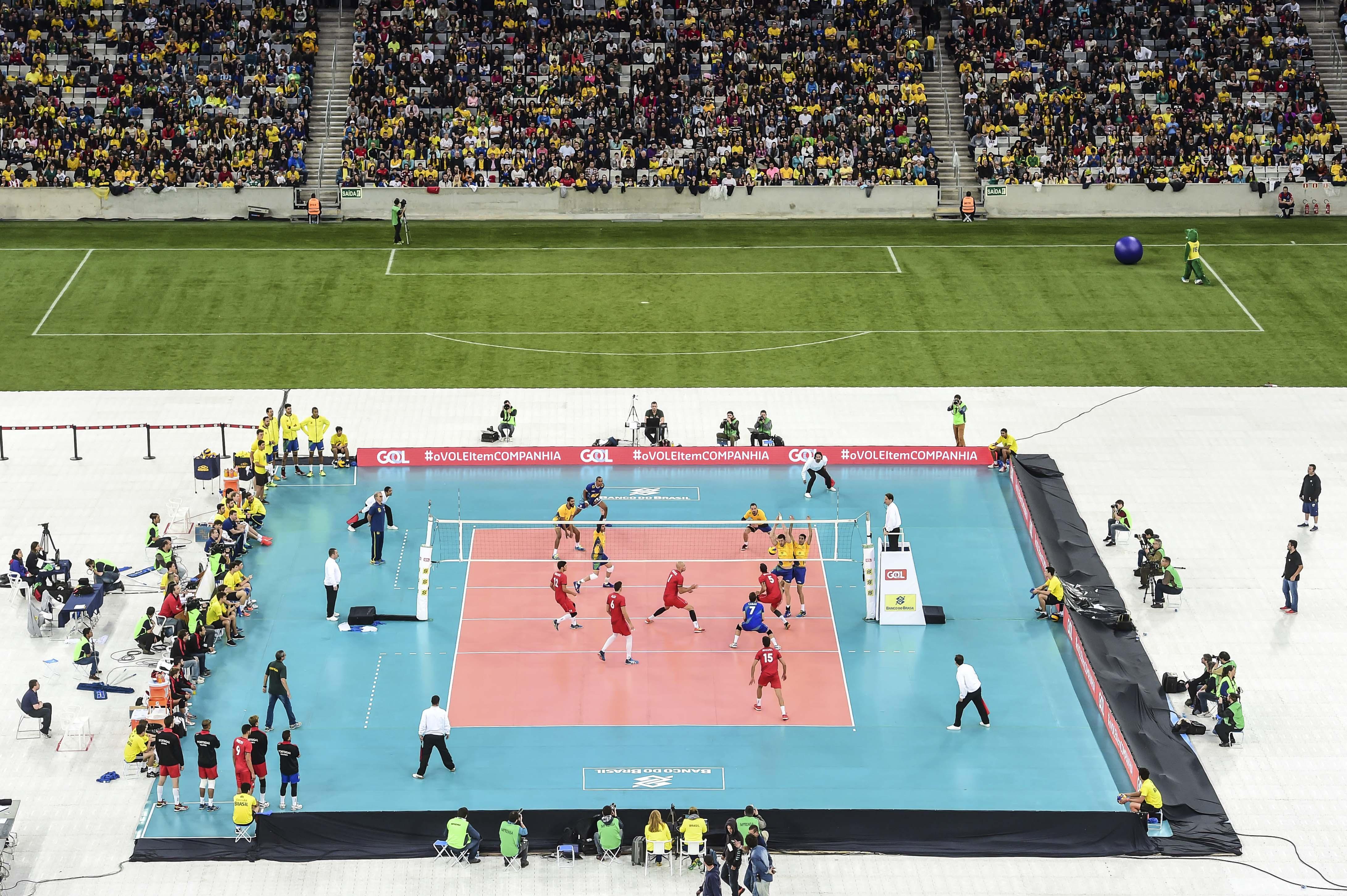 Diante de 33.730 pessoas, Brasil vence Portugal em jogo comemorativo