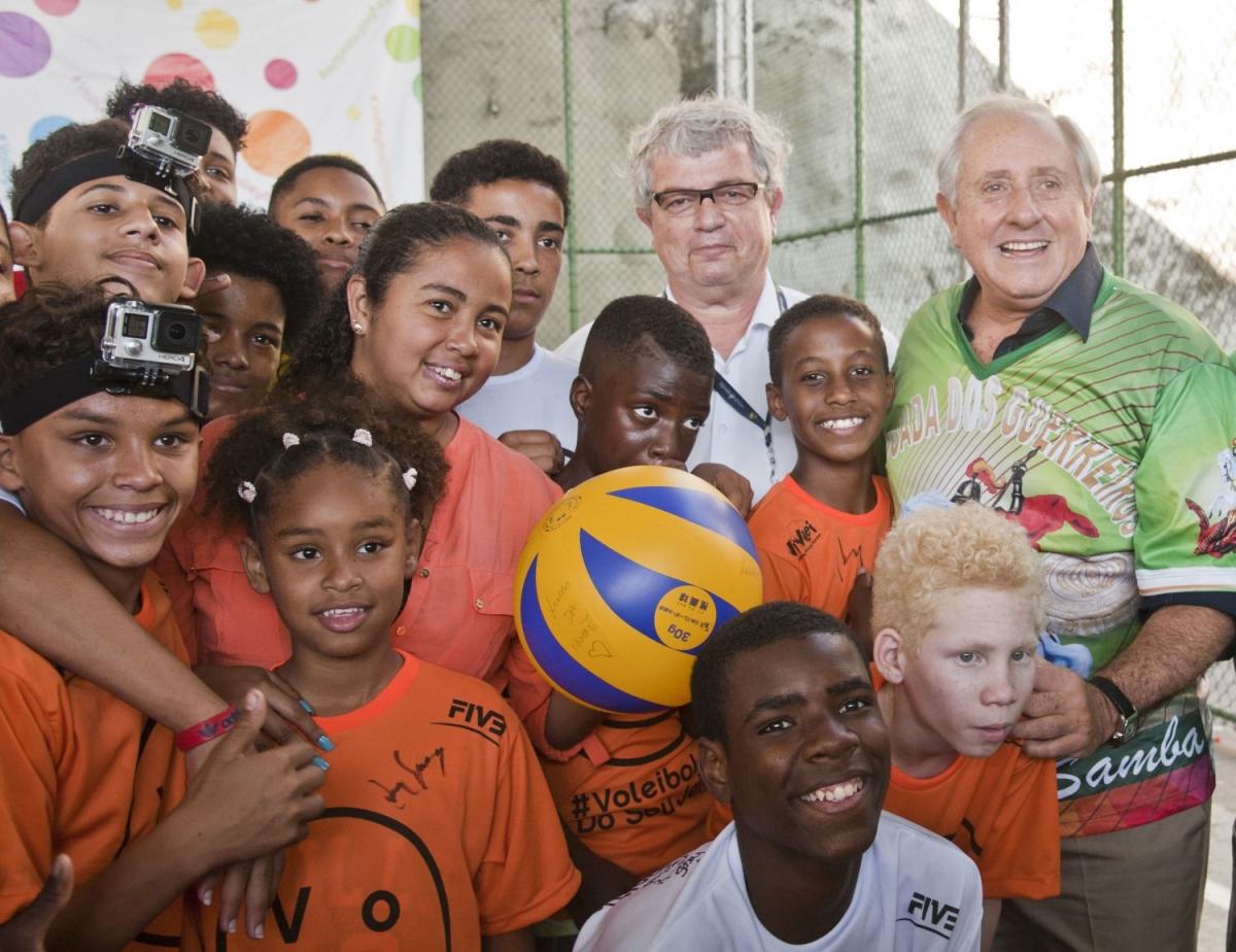 Projeto no Morro da Formiga é legado provocado pelos Jogos Olímpicos