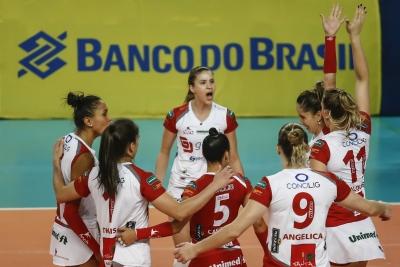 Genter Vôlei Bauru recebe Terracap/BRB/Brasília Vôlei na abertura da décima rodada