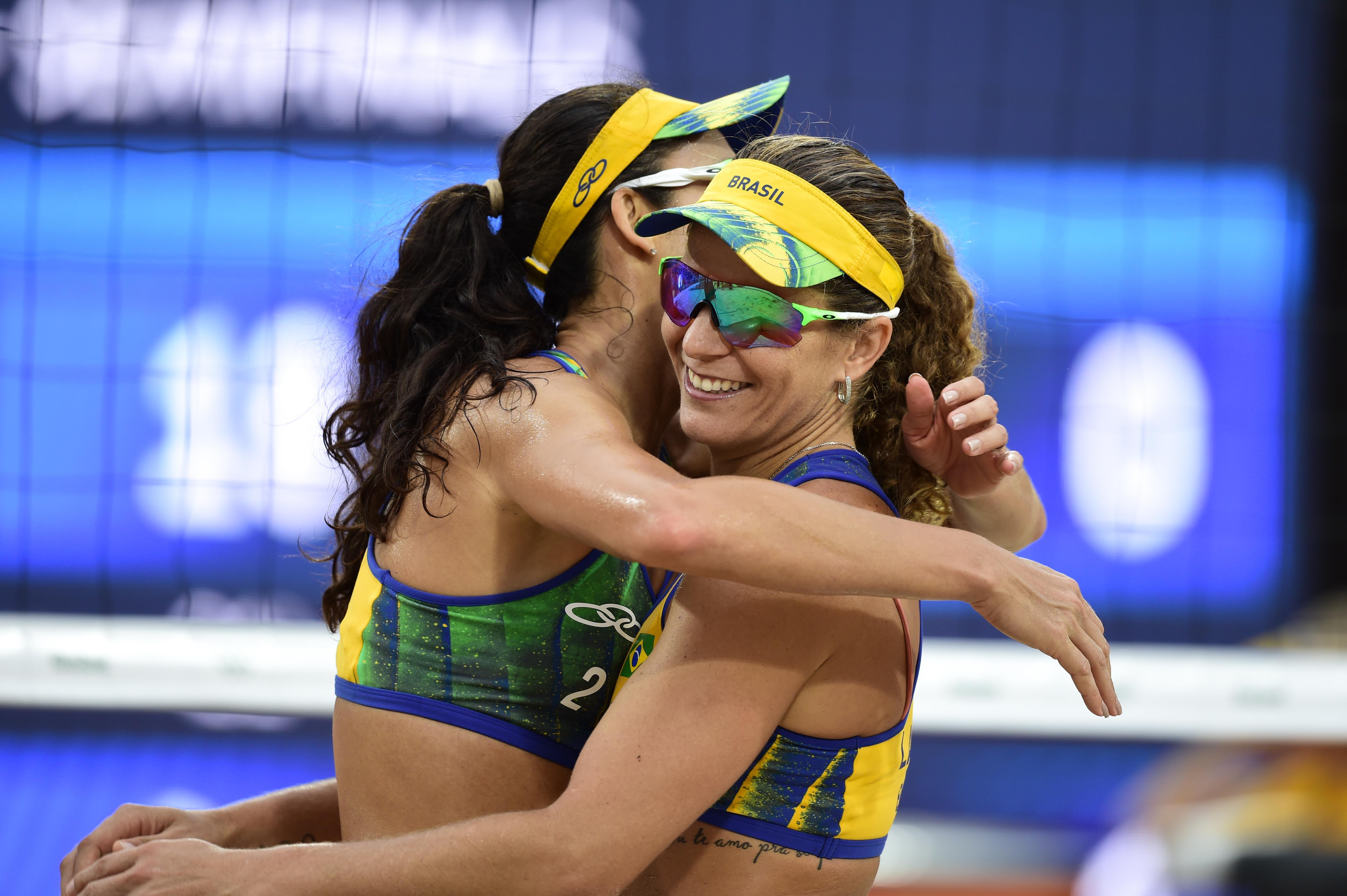 Larissa e Talita são superadas por dupla alemã e disputarão o bronze