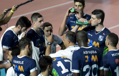 Minas Tênis Clube e Vôlei Brasil Kirin fazem encerram a rodada