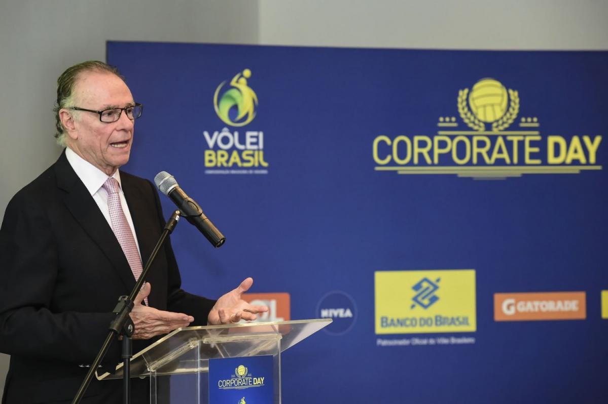 Vôlei Brasil Corporate Day debate patrocínio e parcerias comerciais do esporte