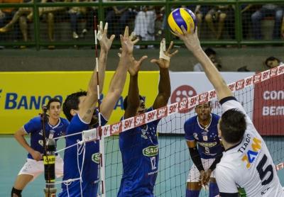 Sada Cruzeiro bate o Minas Tênis Clube e segue sem perder