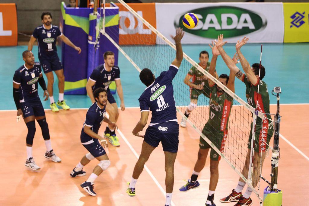 33561d6f87 CBV - Sada Cruzeiro vence o Brasil Kirin por 3 sets a 1