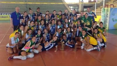Paraná vence Rio Grande do Norte e fica com o título