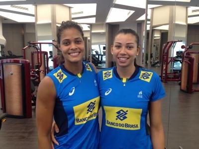 Adenízia e Carol se destacam e Brasil brilha no bloqueio