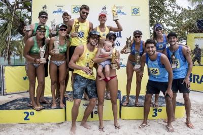 Andressa/Maria Clara e Jeremy/Márcio Gaudie ficam com o título em Maceió (AL)