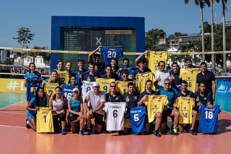 50a6d3a3aa2 CBV - Asics e Vôlei Brasil apresentam novos uniformes das seleções
