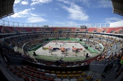 Atletas revelam expectativa por atuar em arena olímpica apoiados pela torcida