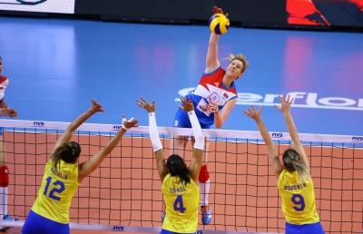 Brasil é superado pela Sérvia