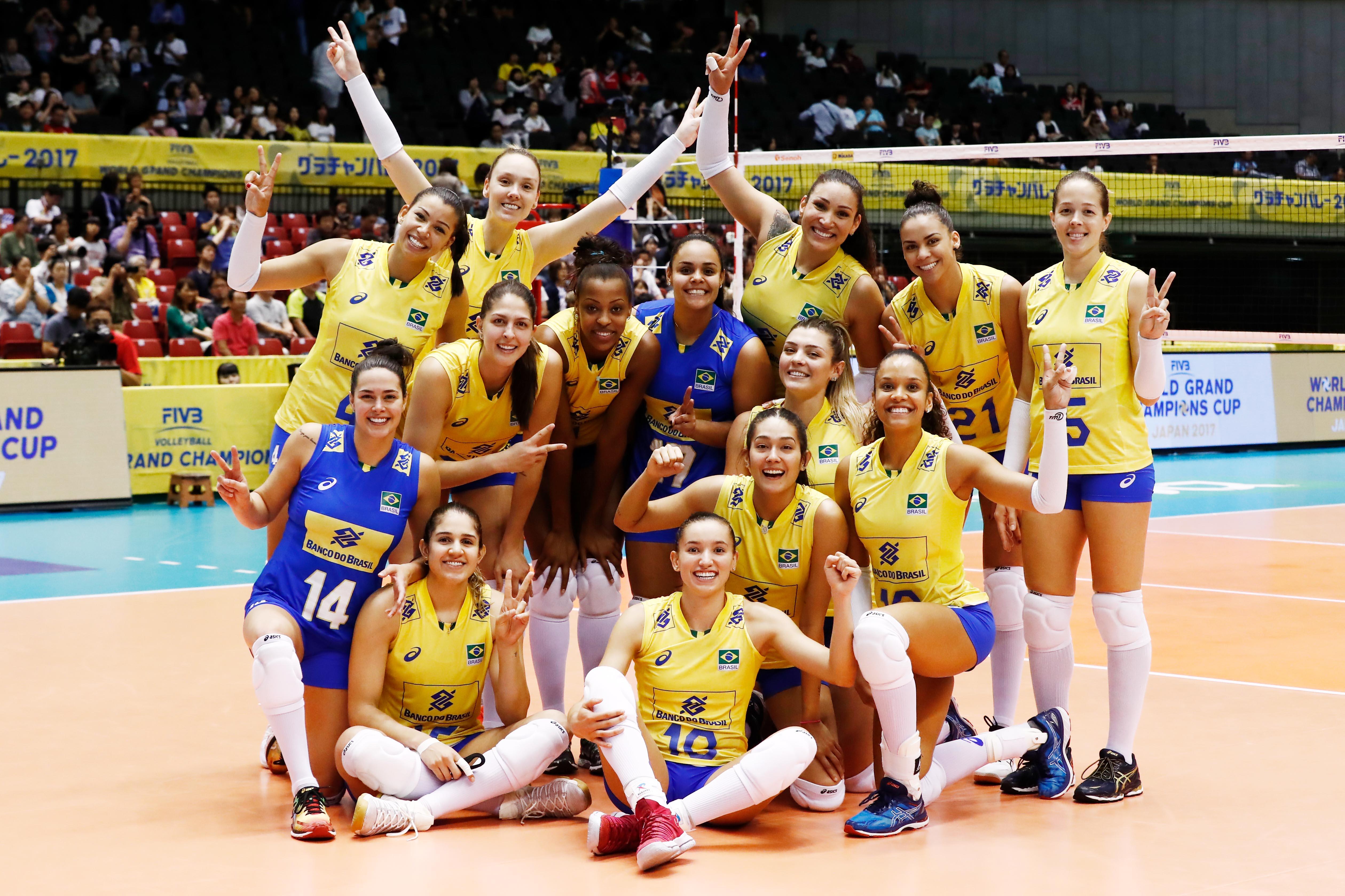 Brasil estreia com vitória sobre a Rússia