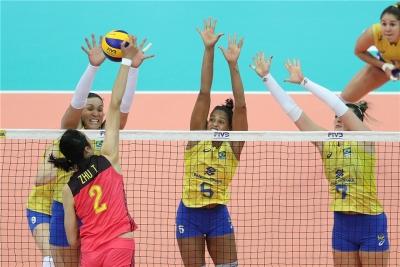 Brasil luta mas é superado pela China