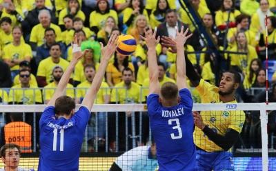 Brasil vence a Rússia e enfrenta os Estados Unidos na semifinal