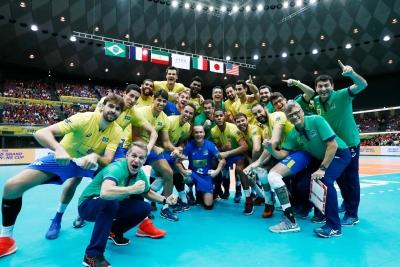 Brasil vence Japão e fica com o título
