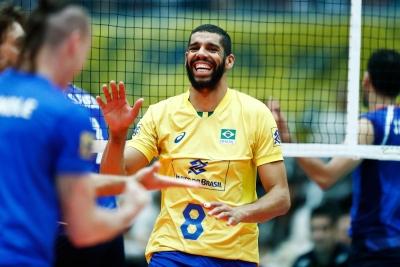 Brasil vence o Irã por 3 sets a 0 pela Copa dos Campeões