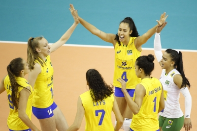 Brasil vence Tailândia e disputa quinto lugar contra Cuba