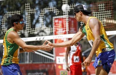Brasileiros seguem com vitórias no segundo dia em Viena