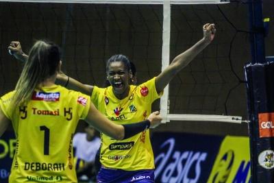 BRH-Sulflex/Clube Curitibano e Abel Havan Brusque avançam às semis