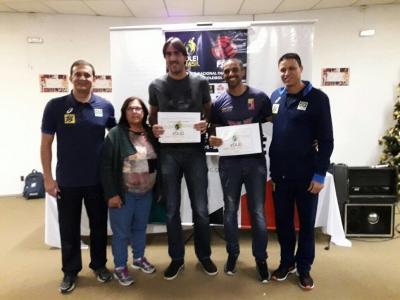 Campeão olímpico Rodrigão é destaque em curso de treinadores