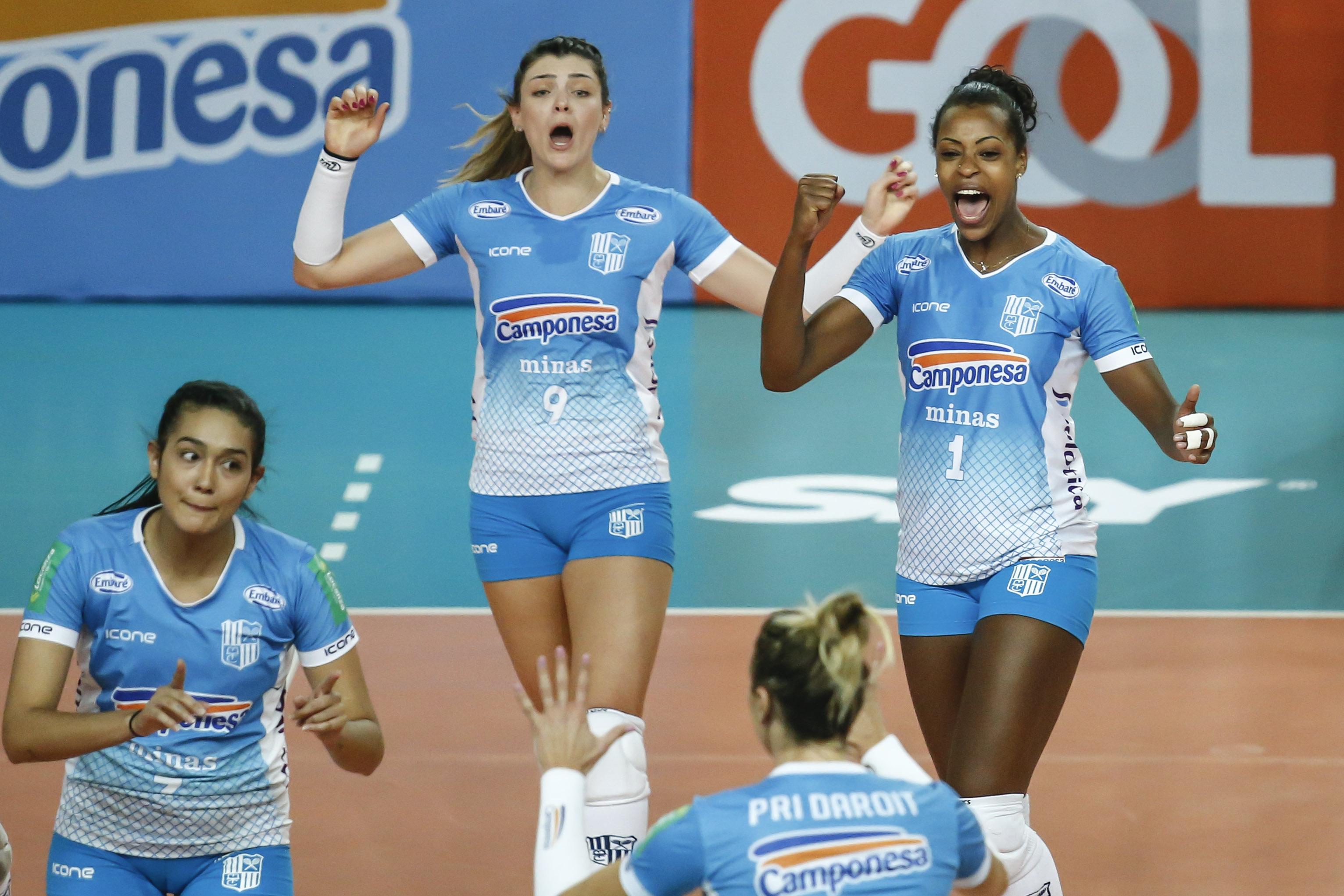 Camponesa/Minas enfrenta o Pinheiros nesta sexta-feira