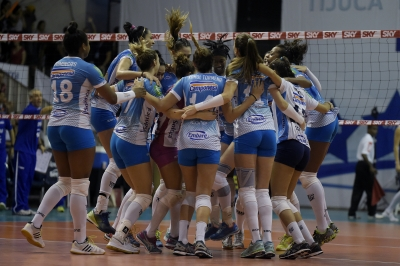 Camponesa/Minas vence Rexona-Sesc e abre vantagem na série semifinal