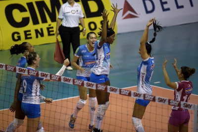 Camponesa/Minas vence Rexona-Sesc e iguala série semifinal
