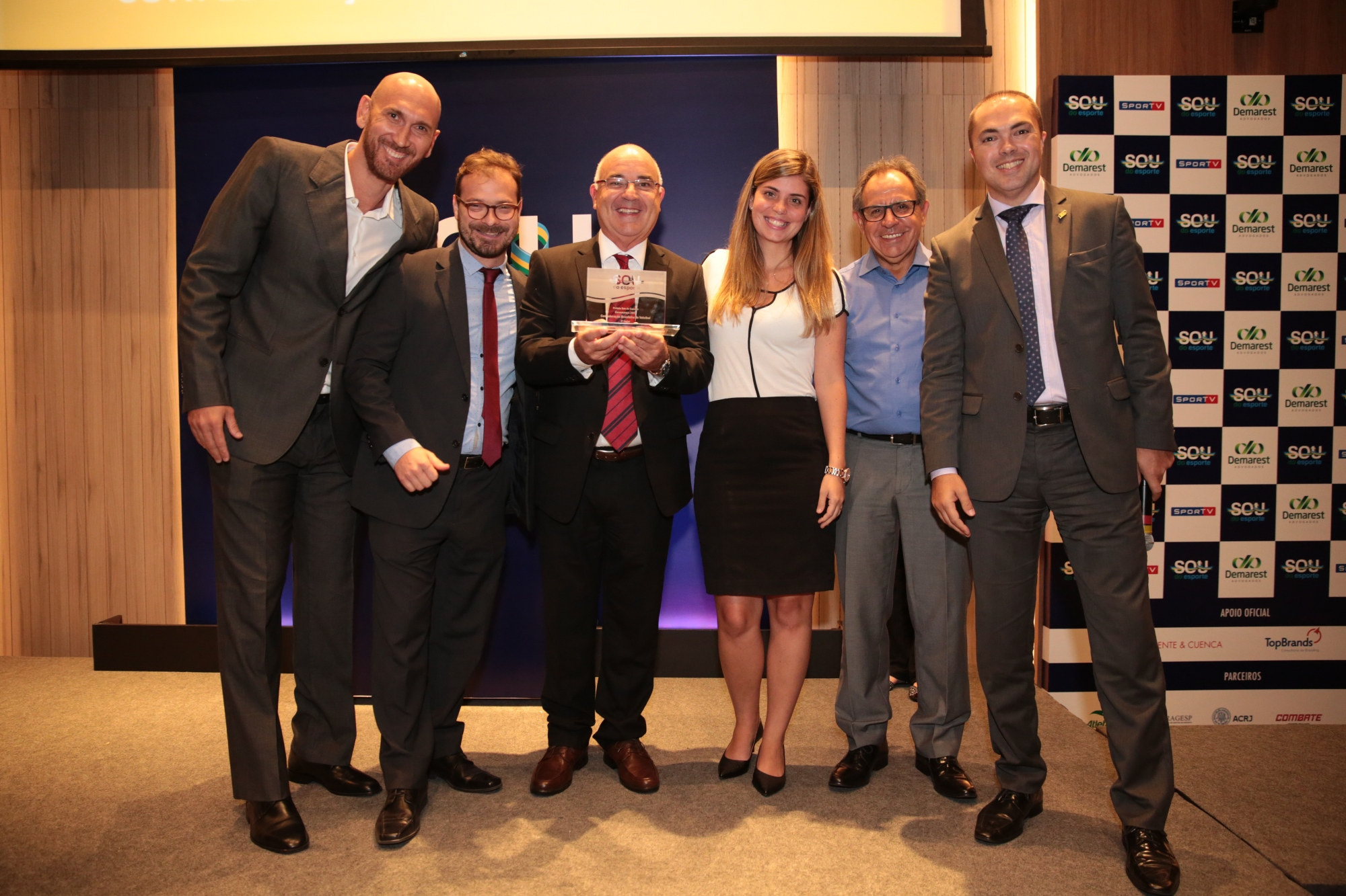 CBV fica entre finalista do prêmio de gestão pelo terceiro ano seguido