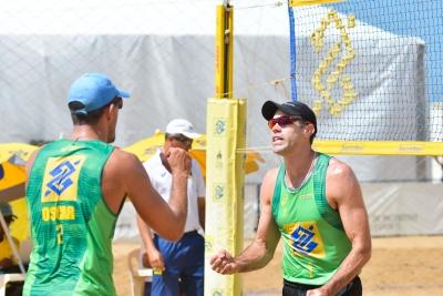 Cinco duplas brasileiras disputam etapa na China