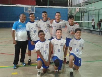 Cintra fica com o bronze na Copa Escolar de Voleibol