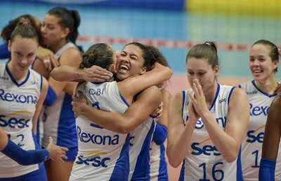 Com 25 pontos de Gabi, Rexona-Sesc vence Camponesa/Minas