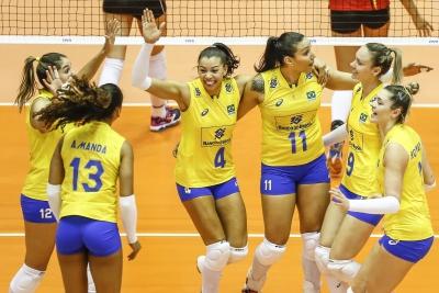 Com apoio da torcida, Brasil vence Bélgica em Cuiabá