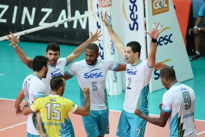 Com transmissão da RedeTV, SESC-RJ vence Botafogo e está na final