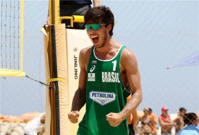 Duplas brasileiras iniciam classificatório com duas vitórias