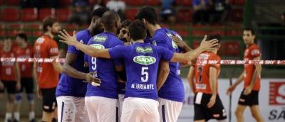 Em casa, Sada Cruzeiro vence Sesi-SP