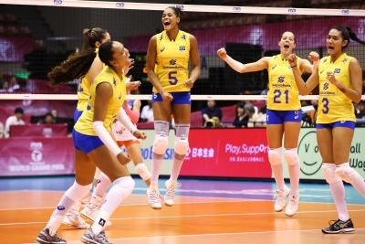 Em Sendai, Brasil leva a melhor sobre a Sérvia
