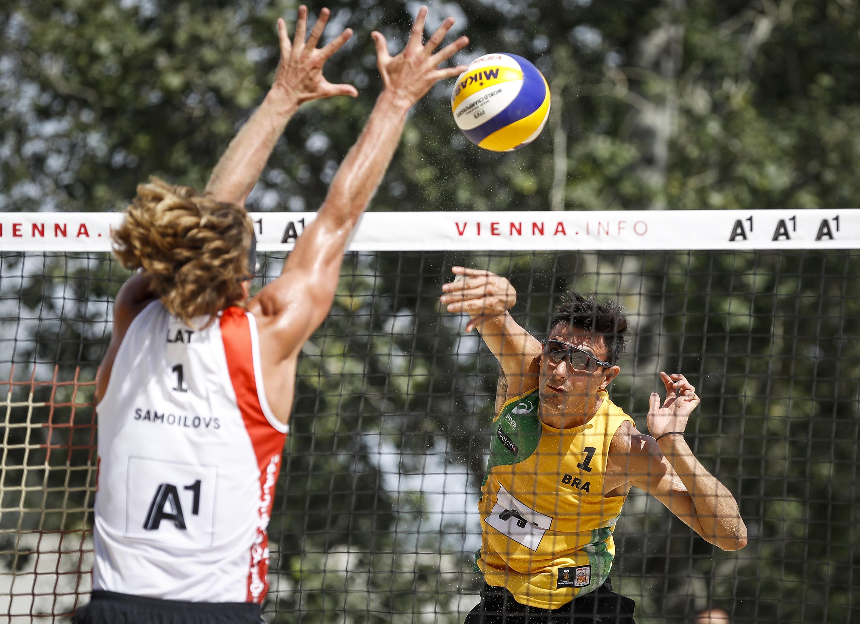 Evandro/André representam o Brasil nas quartas de final
